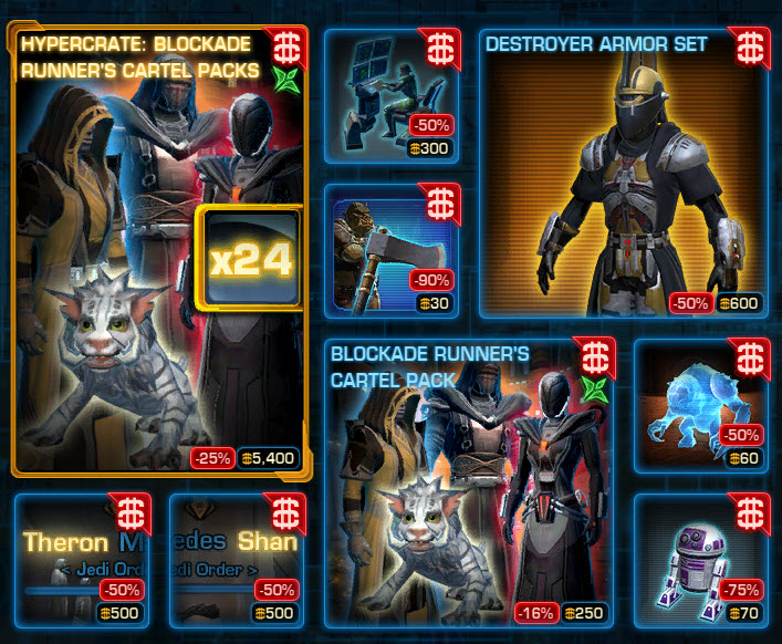 SWTOR CM weekly sales for June 30 – July 7