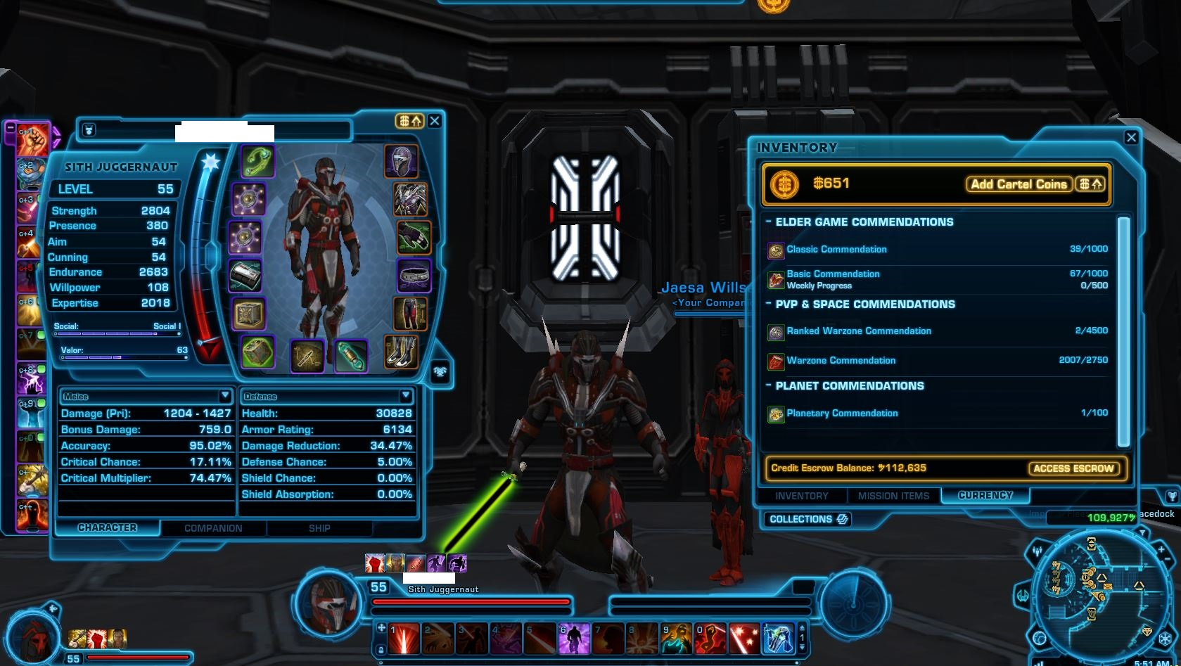 SWTOR Dev Post - About Warzone Legacy Boxes