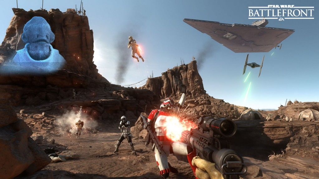 Star Wars Battlefront Higher Quality Tatooine Coop Image