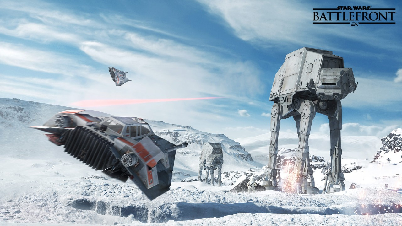 starwars battlefront walker assult