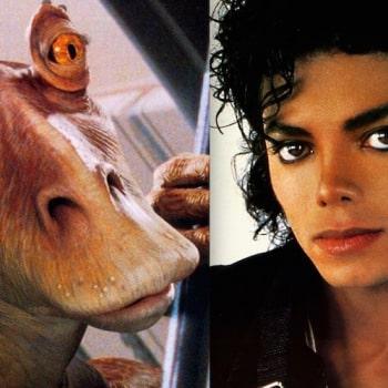 Michael Jackson almost played Jar Jar Binks
