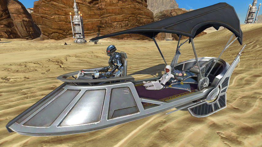 The SWTOR Cartel market team want your ideas for new mounts