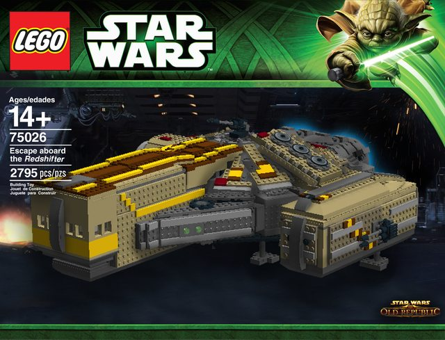 Star Wars The Old Republic XS Freighter MOC
