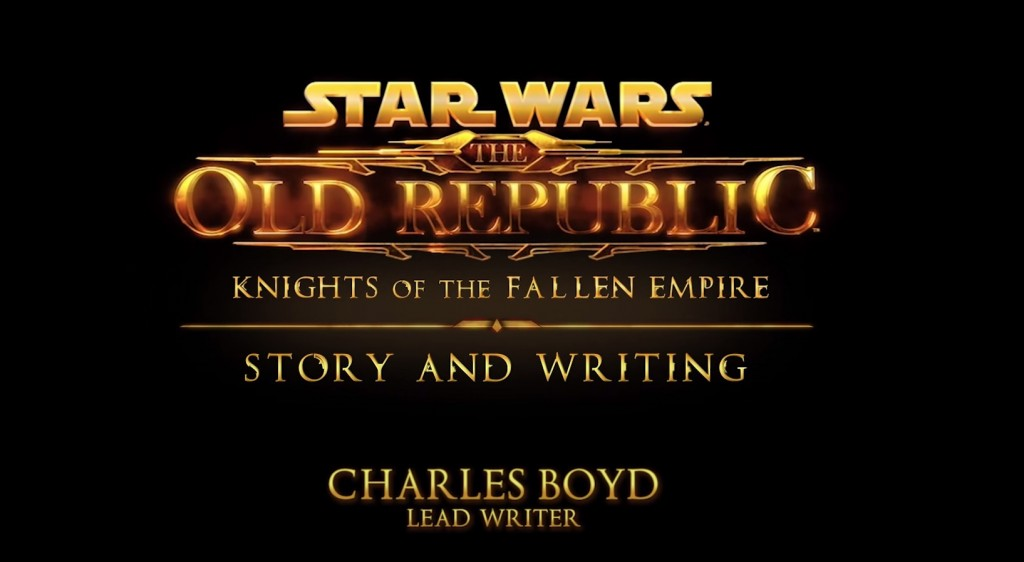 Knights of the Fallen Empire Behind the Scenes