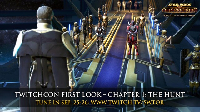 SWTOR Fallen Empire Chapter 1 Livestream at Twitchcon
