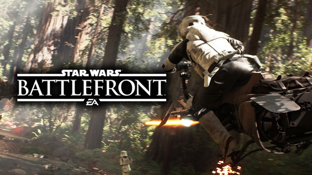 Star Wars Battlefront Speeder Bike Racing