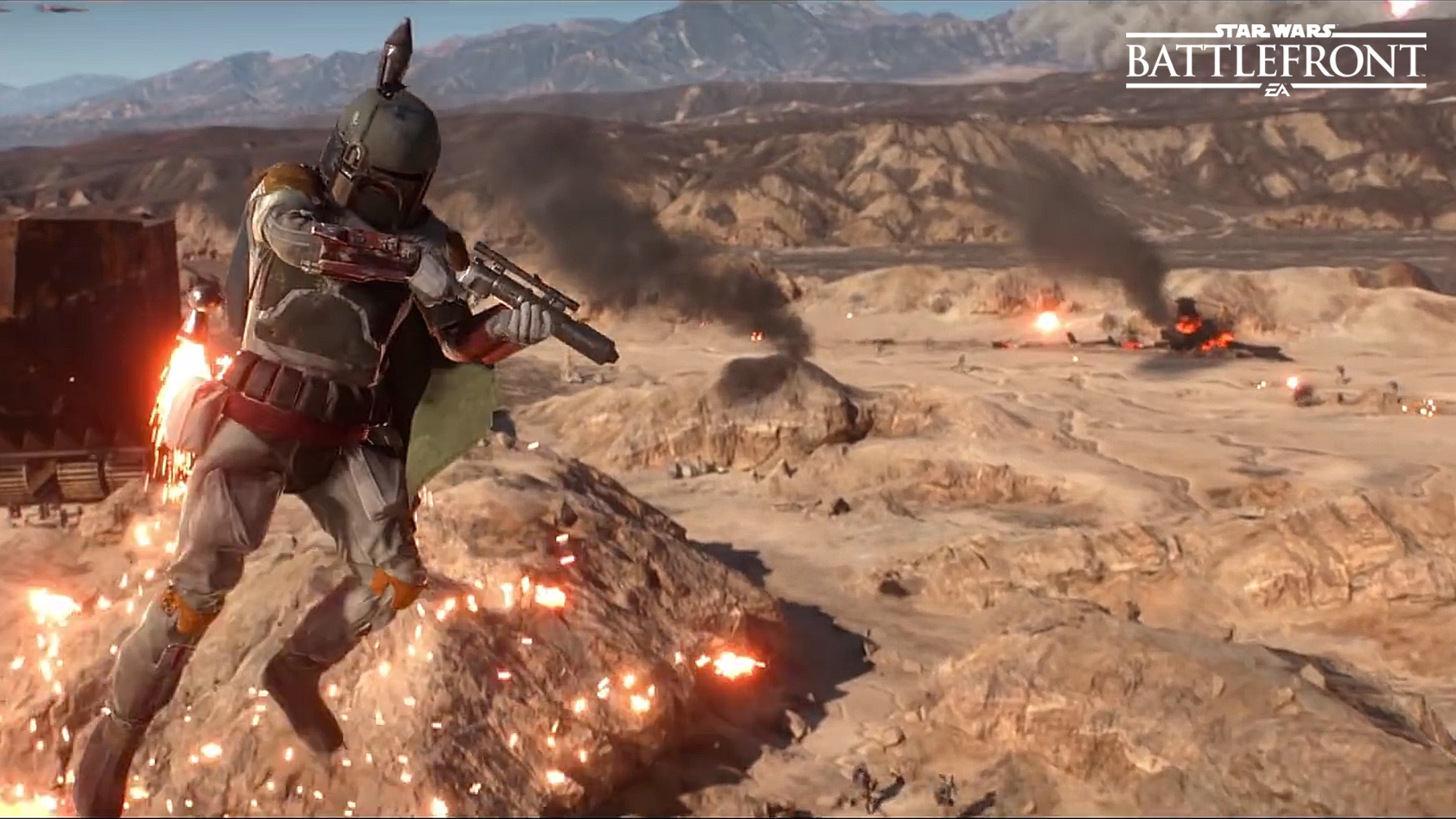 The Villains of Star Wars Battlefront Boba Fett