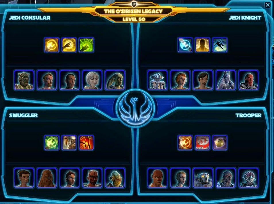 SWTOR Companion Affection Achievements in Fallen Empire