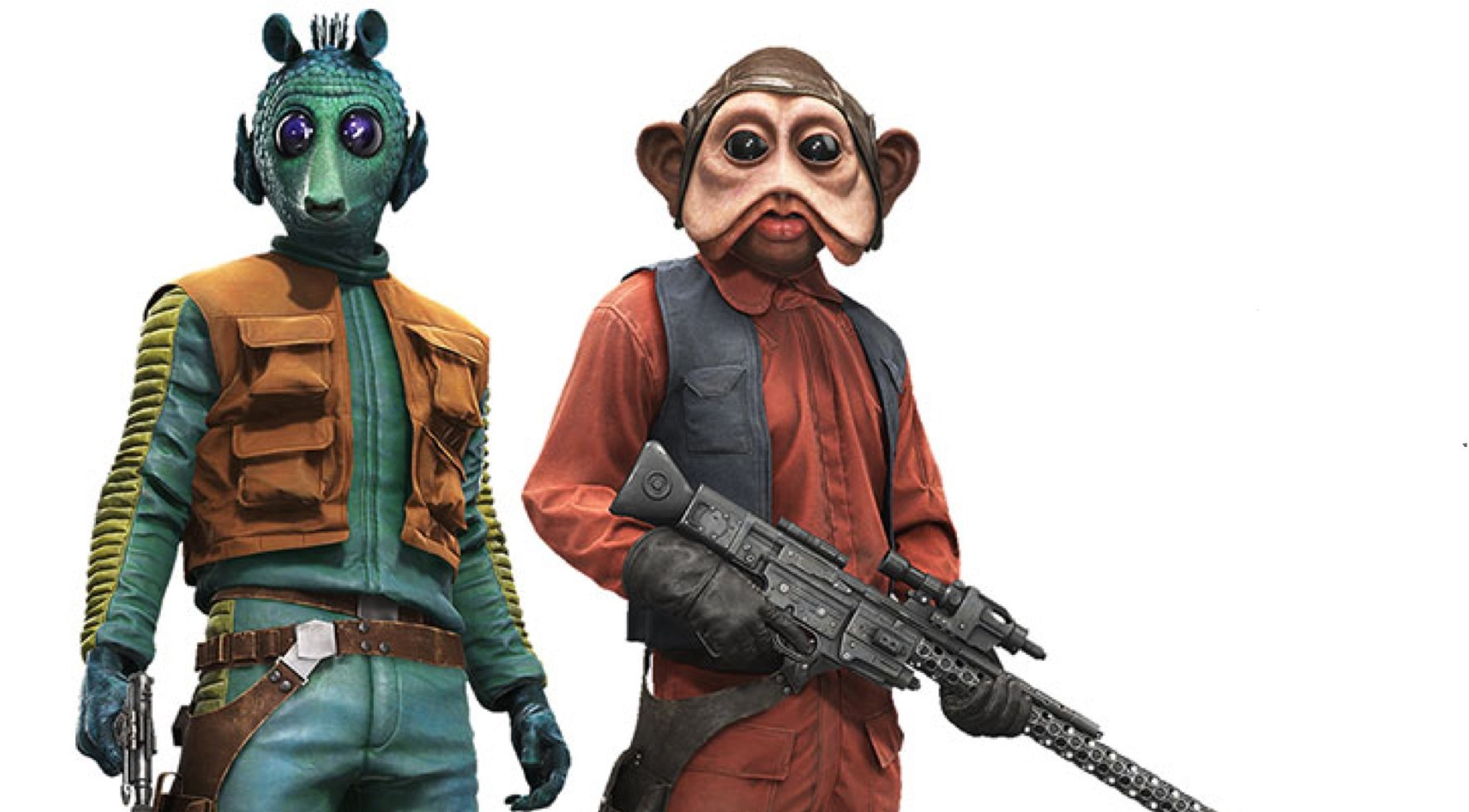 Greedo and Nien Nunb Confimed