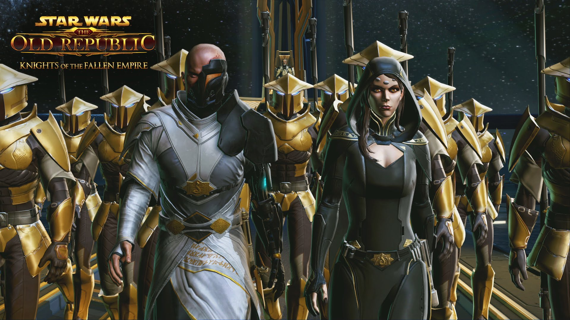 Swtor Knights Of The Fallen Empire Hero S Saga Trailer Star Wars Gaming Star Wars Gaming News