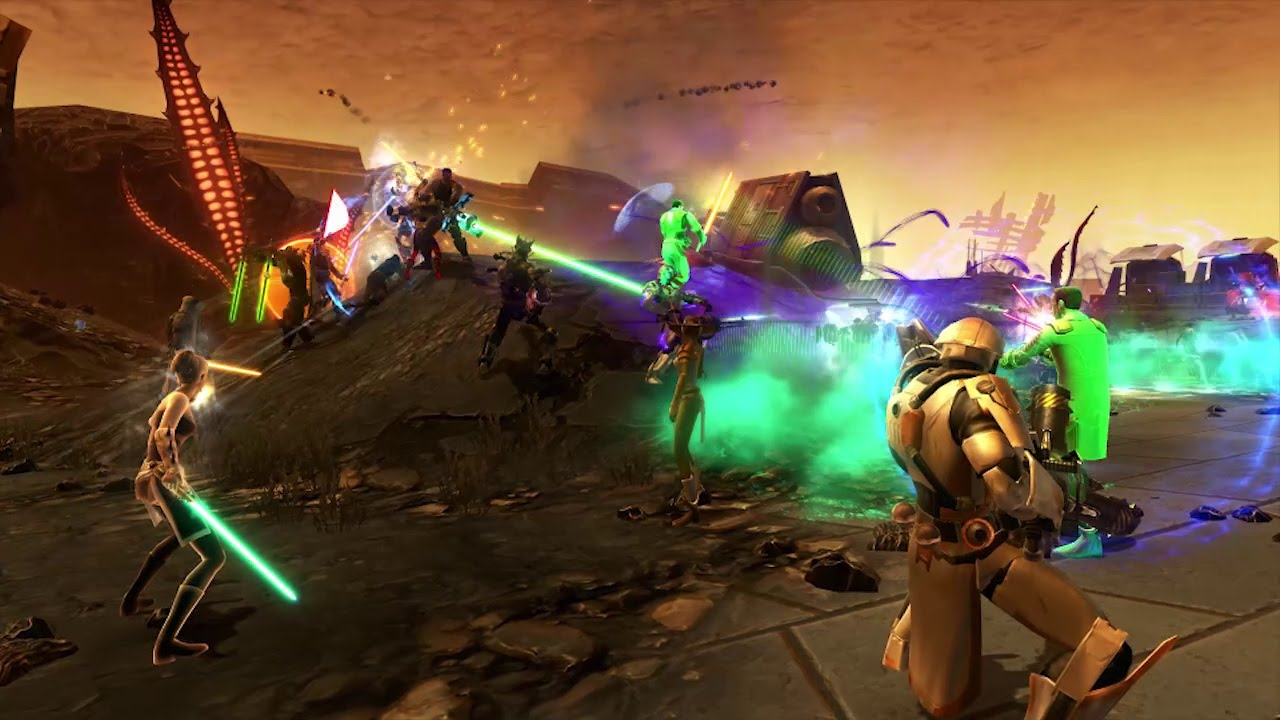 SWTOR World PVP: The Battle of Oricon II Star Wars: Gaming