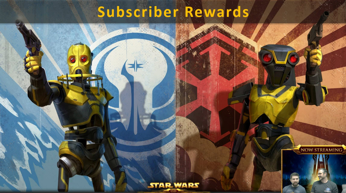 swtor subscriber rewards