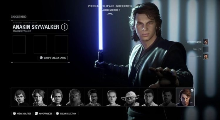 Star Wars Battlefront 2 - Chosen One patch notes