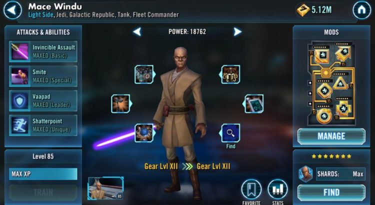 Star Wars Galaxy of Heroes Marquee Merchandising Changes