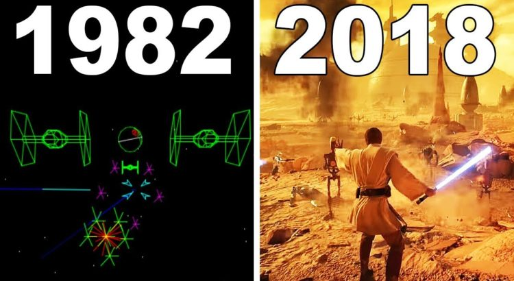 Evolution of Star Wars Games 1982 – 2018