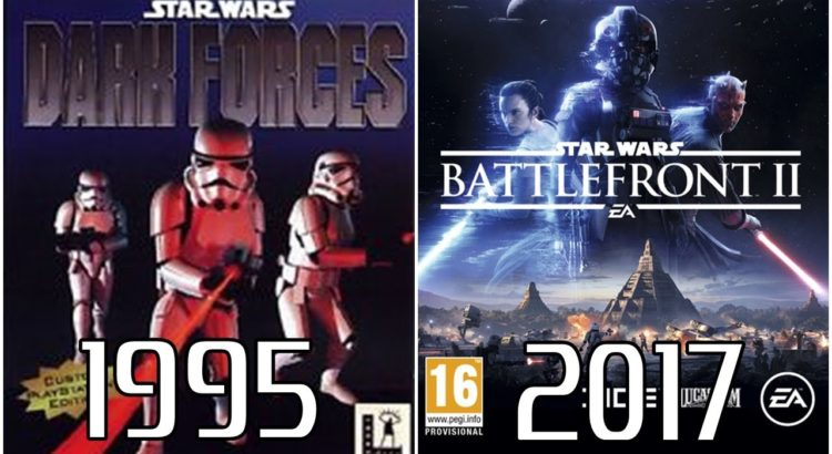 Star Wars PlayStation Evolution (1995-2017)