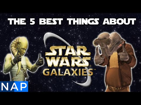 The 5 Best Things About Star Wars Galaxies!