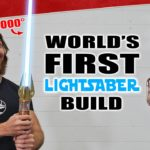 YouTuber creates real-life 'Star Wars' lightsaber that slices steel