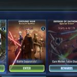 Star Wars Galaxy of Heroes: Event Calendar - January 2021